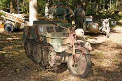 German Kettenkrad tractor (Sd.Kfz. 2)