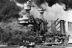 Ataque japonês a Base Naval de Pearl Harbor - Hawaí