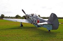 Foi um avião de caça soviético monomotor usado durante a Segunda Guerra Mundial. Entrou em operação em 1942. O Yak-9 possuía uma fuselagem mais leve permitindo-lhe uma flexibilidade maior em relação aos modelos anteriores. Os pilotos soviéticos consideravam que essa aeronave possuía uma performance semelhante ao modelos alemães Messerschmitt Bf 109G e Focke-Wulf Fw 190A-3/A-4. Entre 1942 e 1948 foram produzidos 16 769 unidades. O Yak-9 foi o primeiro avião a derrubar um Messerschmitt Me 262.