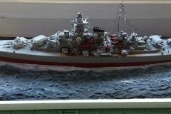 """Encouraçado Tirpitz - classe """"Bismarck"""" - Kriegsmarine (Marinha) Alemã"""