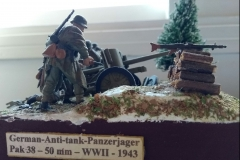German Anti-Tank Panzerjager - PAK 38 50 mm - 1943